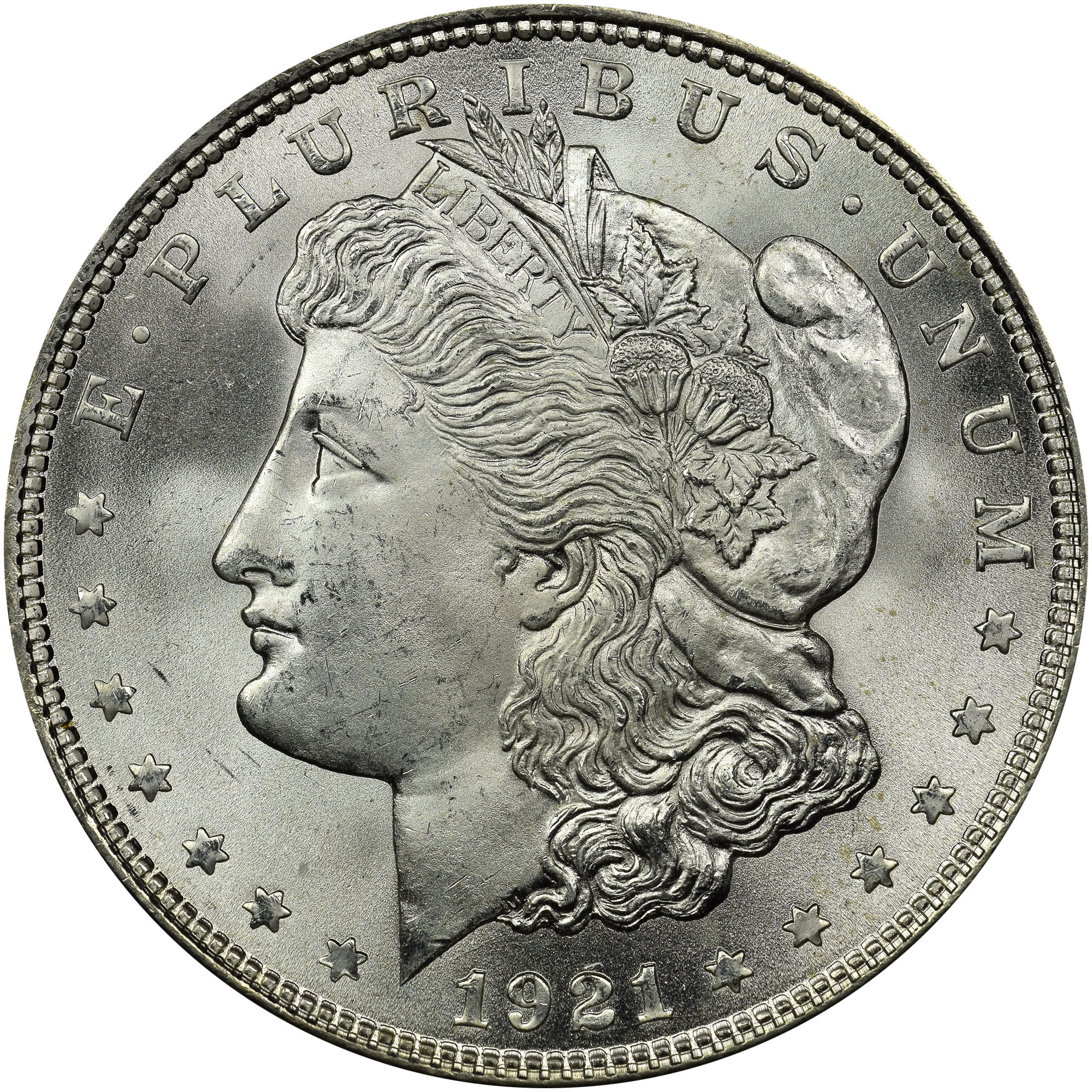 silver coins Morgan Silver Dollar